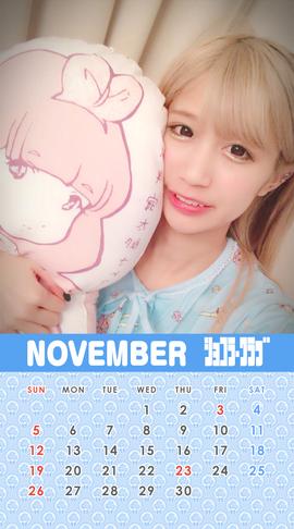 11月ぐみカレンダー