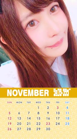 11月ゆずカレンダー