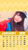 1月ゆずカレンダー