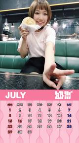7月みさこカレンダー