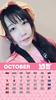 10月みさこカレンダー